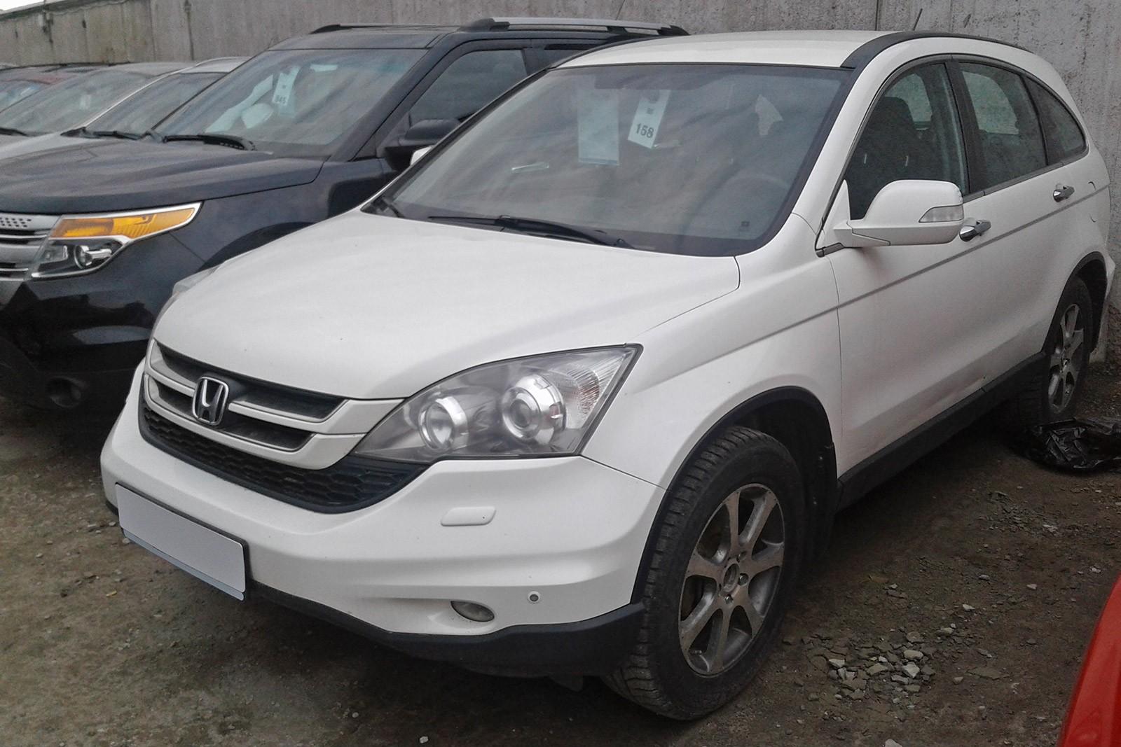 Honda CR-V белый