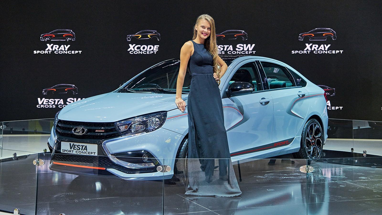 На фото: Lada Vesta Sport Concept