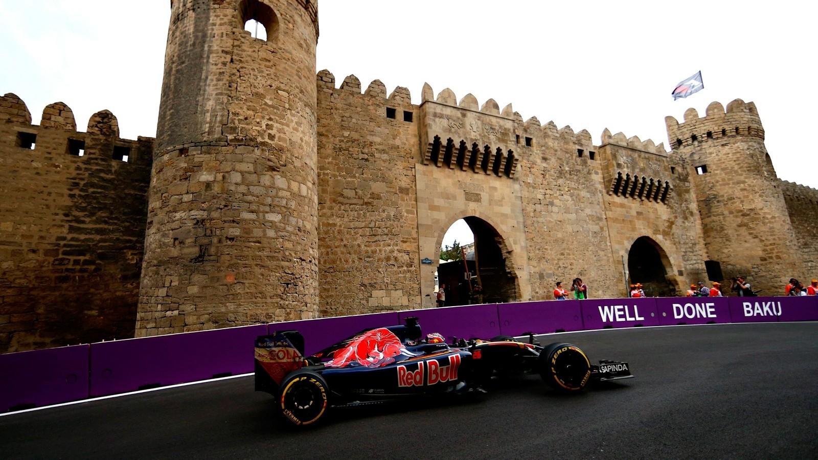 В Баку команда Toro Rosso не смогла набрать очки из-за двойного схода