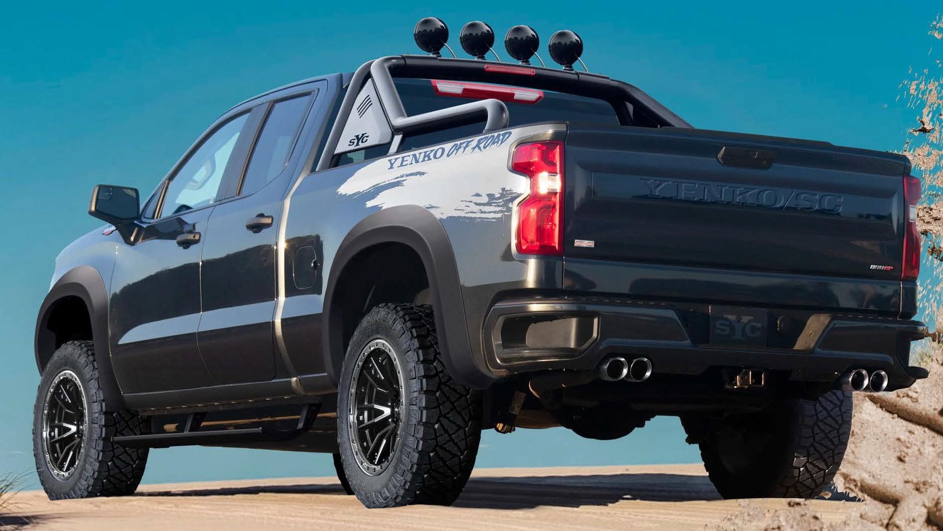 Chevrolet Silverado превратился в грозного конкурента Ram 1500 TRX – 811 л.с.!