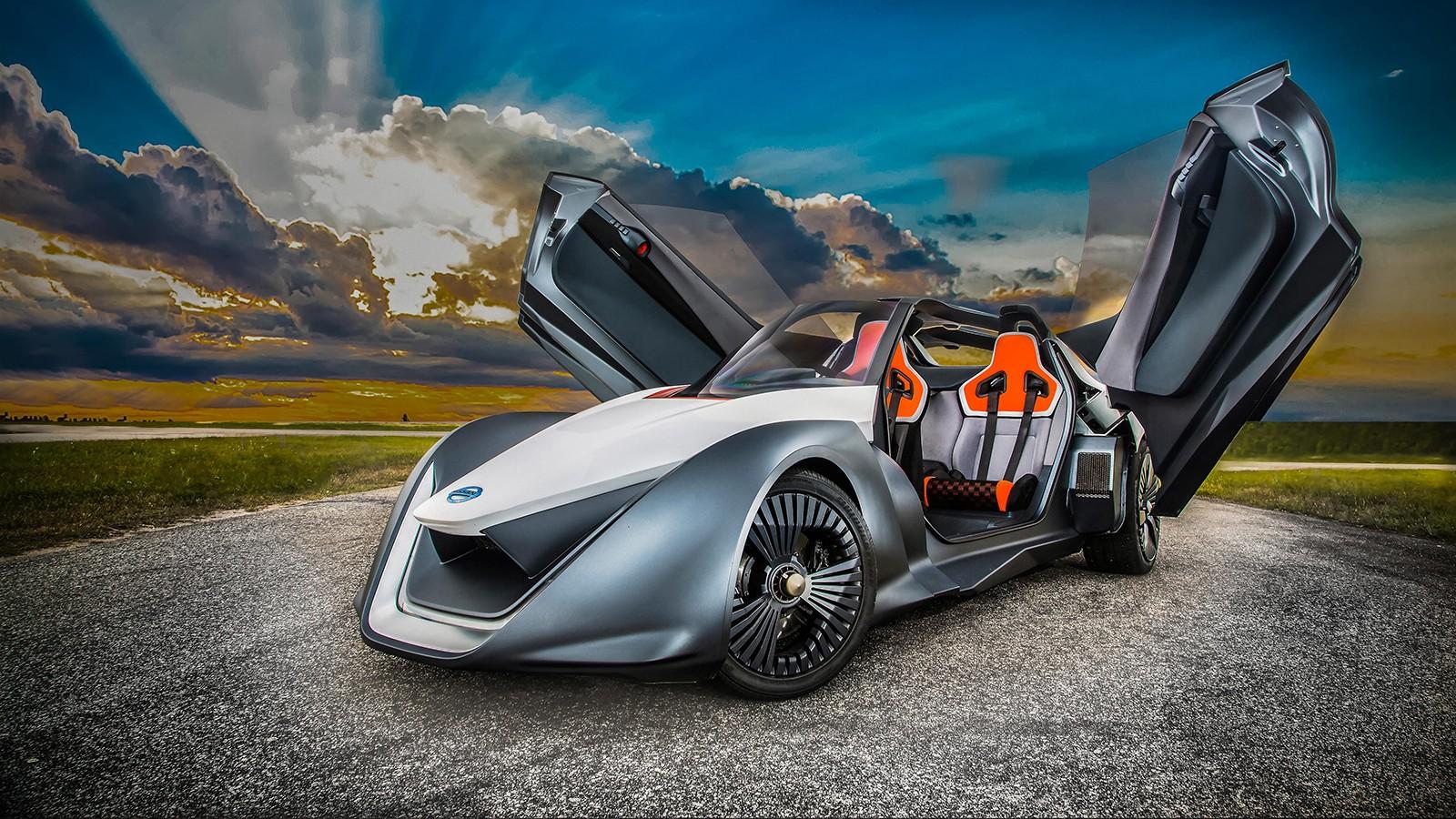 На фото: прототип Nissan BladeGlider