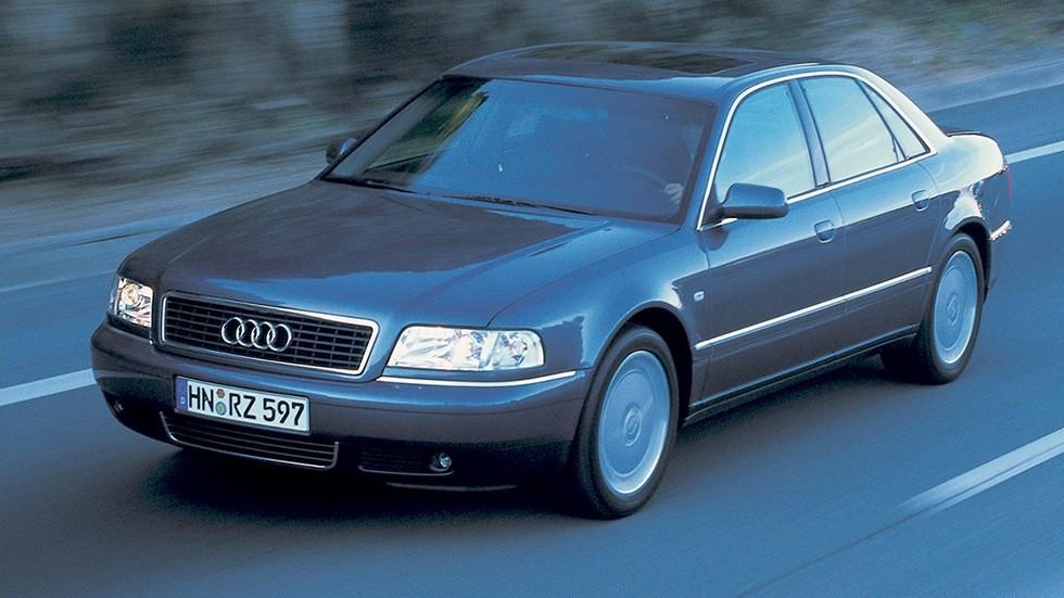 На фото? Audi A8 3.7 (D2) '1999–2002