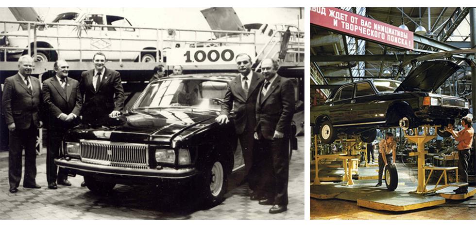 До 1991 года доля ГАЗ-3102 в общем количестве выпущенных Волг не превышала 4%