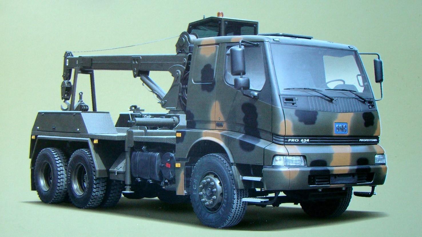 Ремонтно-эвакуационный автомобиль на 5-тонном шасси ВМС 624