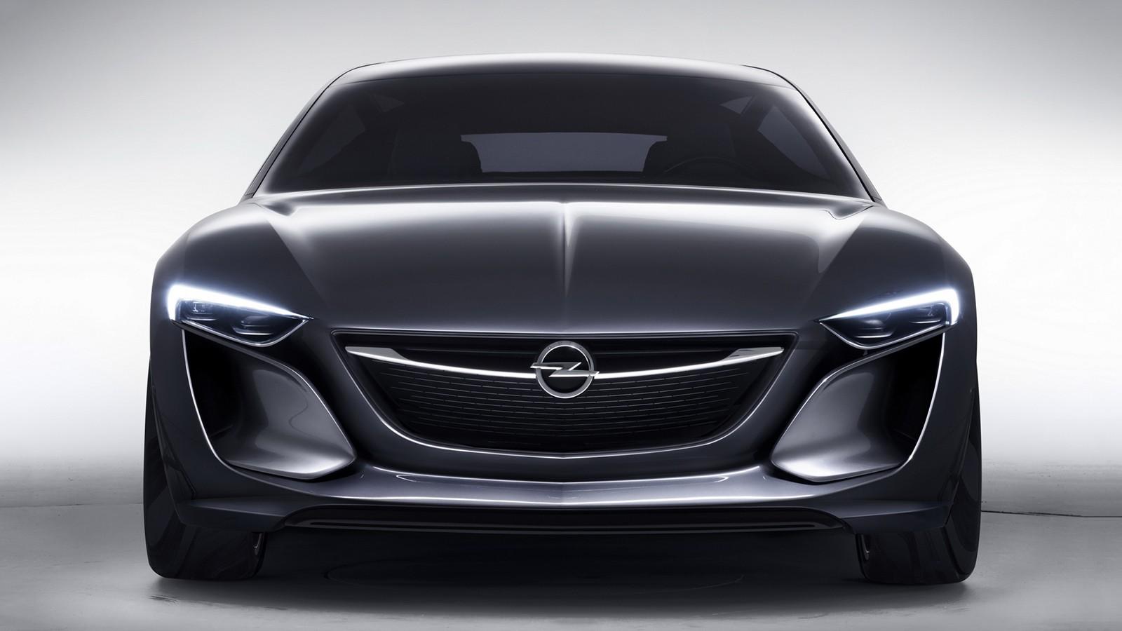 На фото: Opel Monza Concept