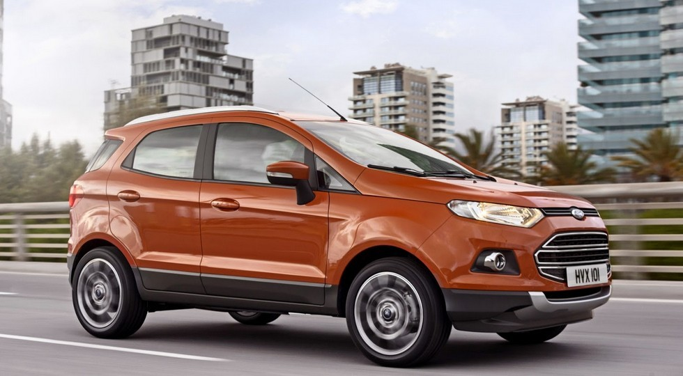 На фото: Ford EcoSport