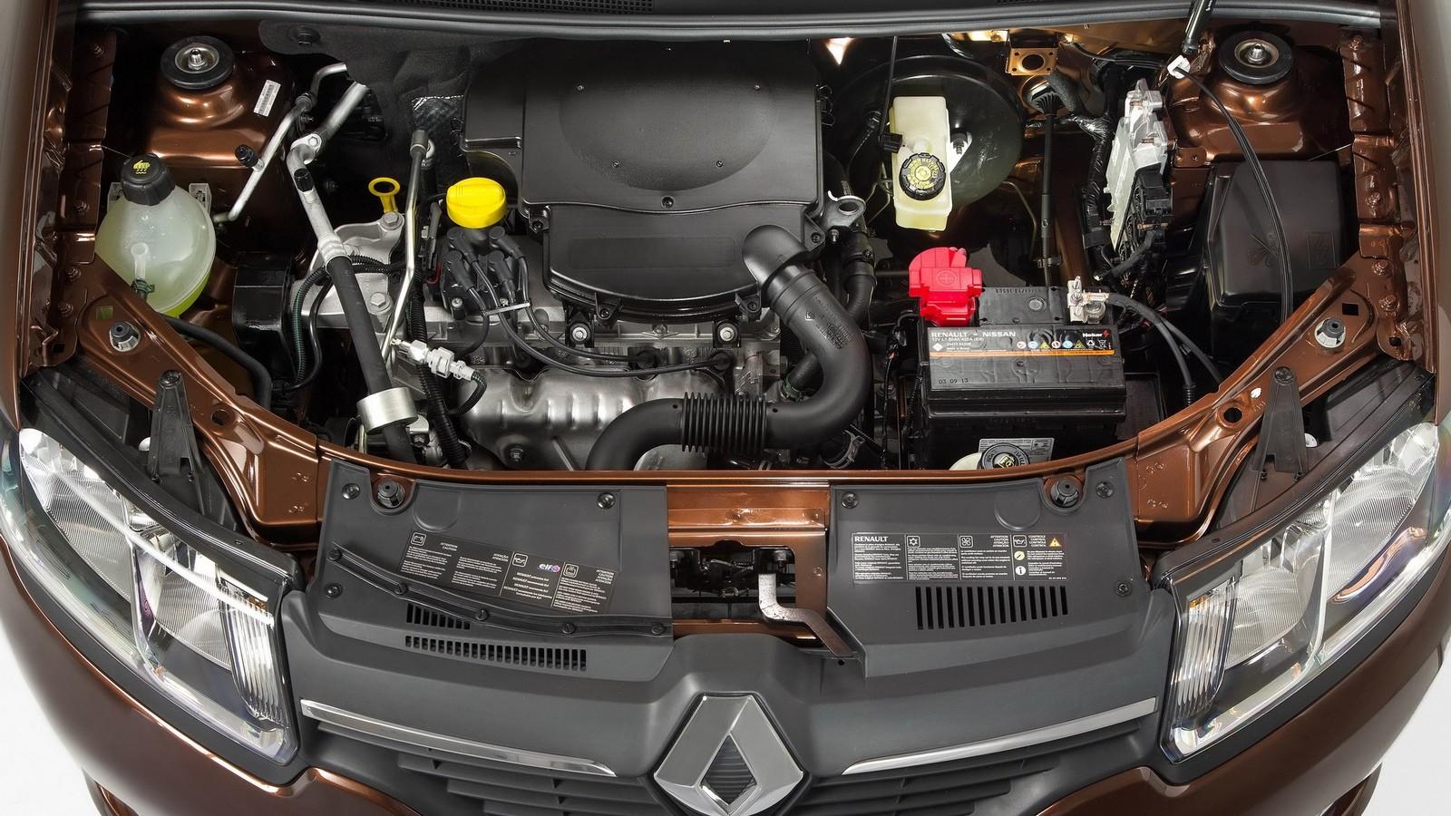 Под капотом Renault Logan BR-spec '2013–н.в.