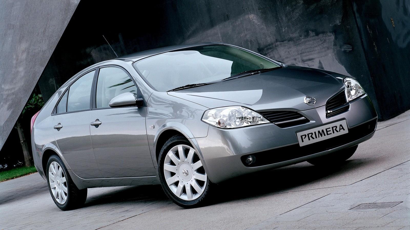 Nissan Primera Hatchback (P12) '2002–08с