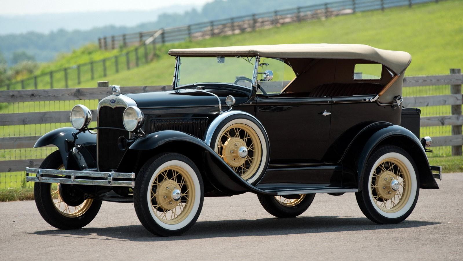 Ford Model A Phaeton Deluxe