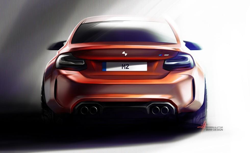 Эскиз BMW M2