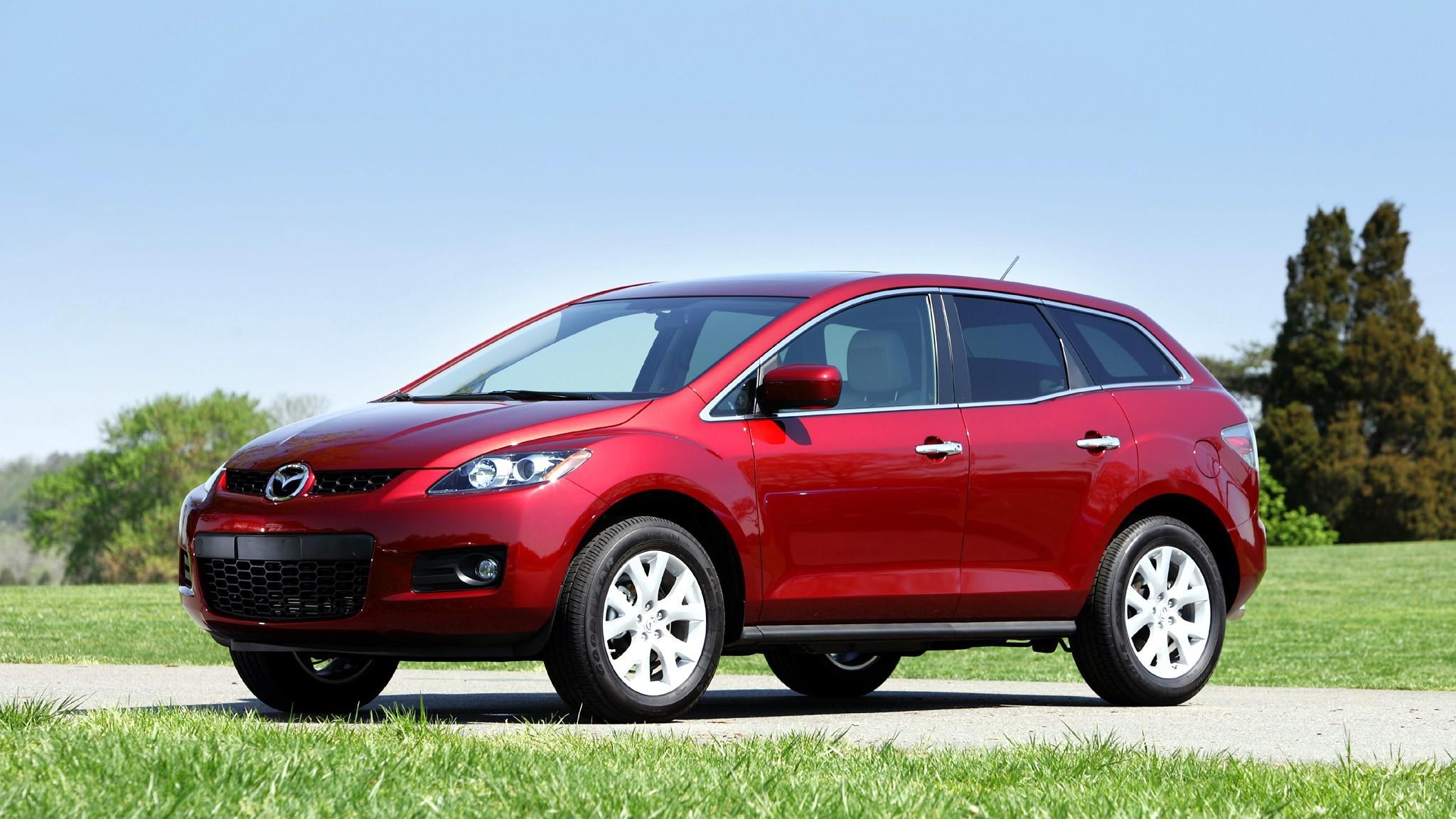 На фото: Mazda CX-7 для рынка США