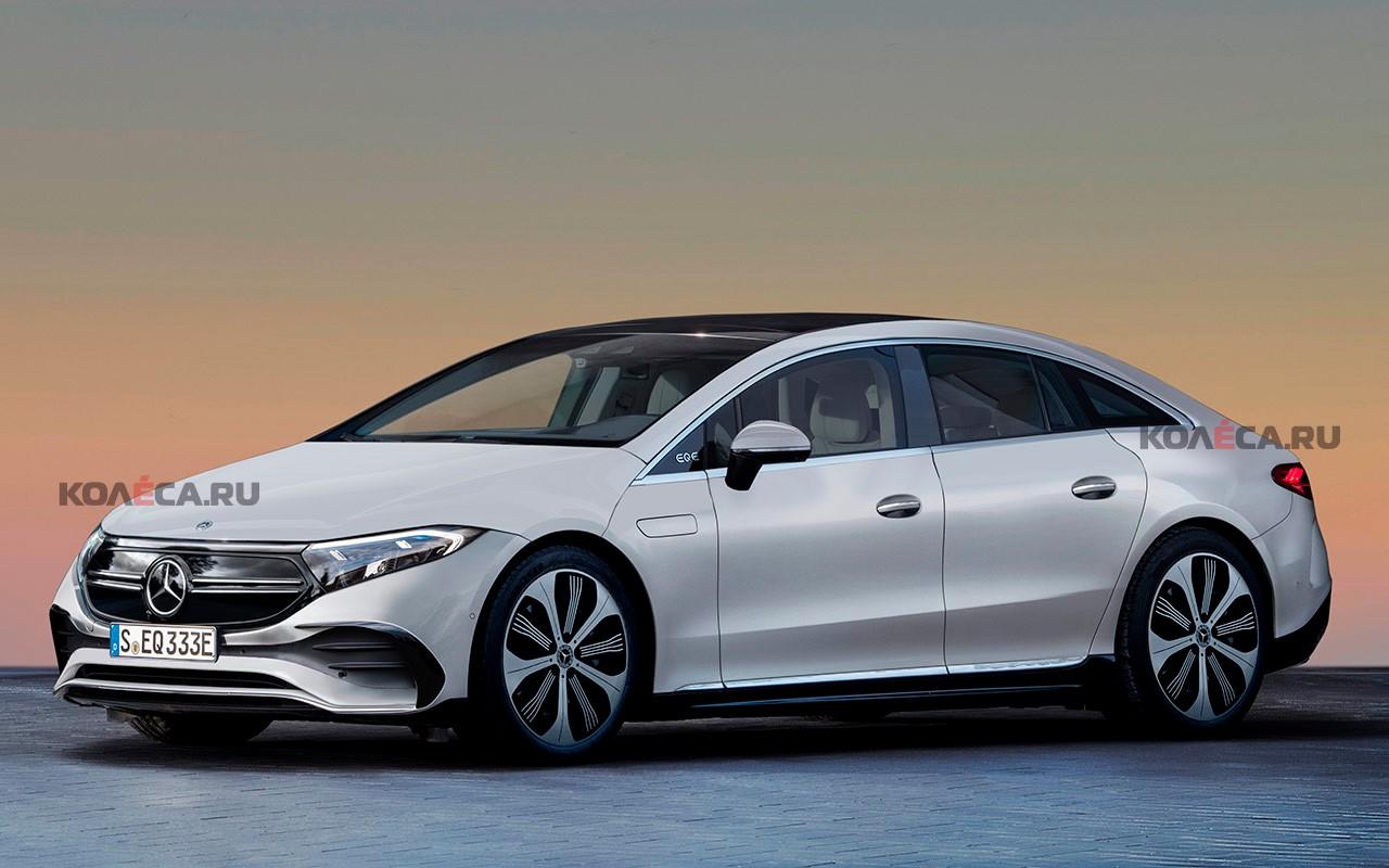 Mercedes-Benz готовит очередную «батарейную» новинку: новое изображение седана EQE