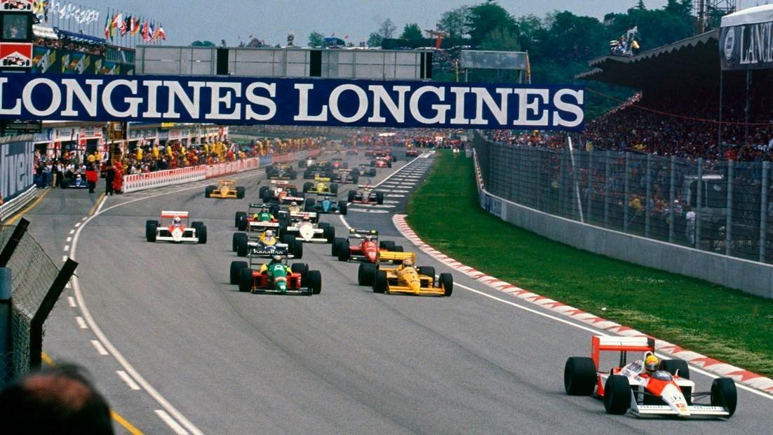 Трасса в Имоле принимала у себя гран-при Формулы-1 достаточно долгое время
