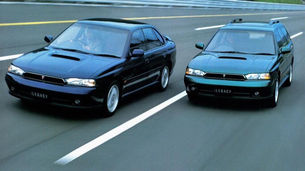 На фото: Subaru Legacy '1993–99