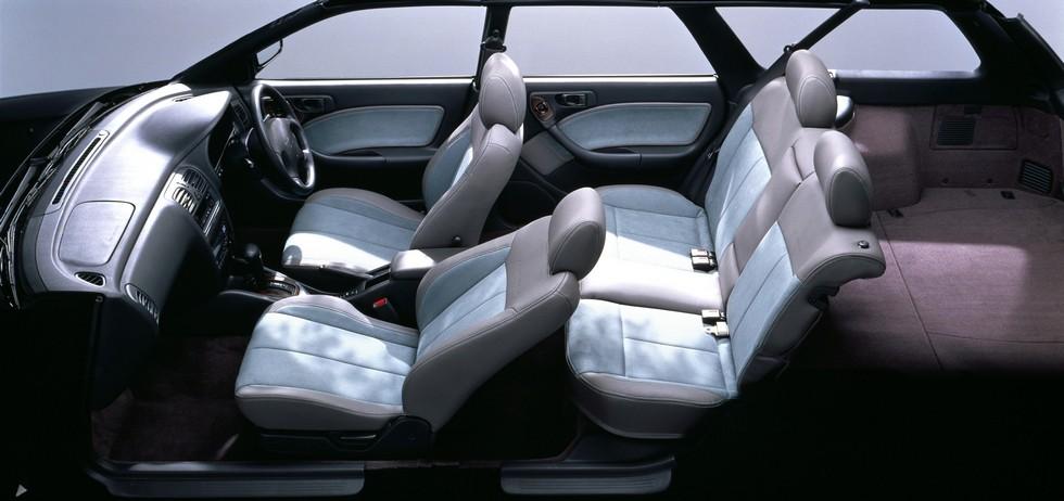 На фото: Subaru Legacy Grand Wagon (BG9) '1995–1997
