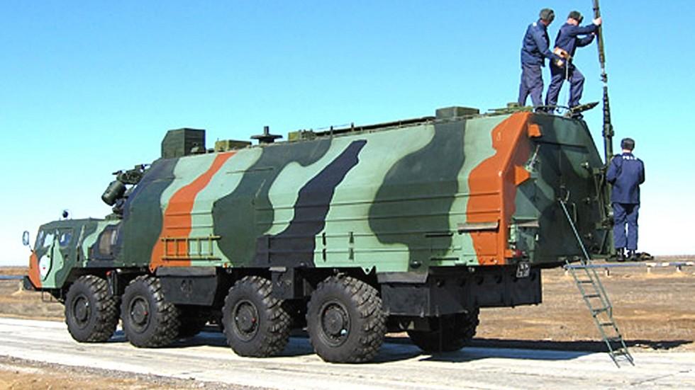 Машина боевого управления 5В167 командного пункта ракетного полка
