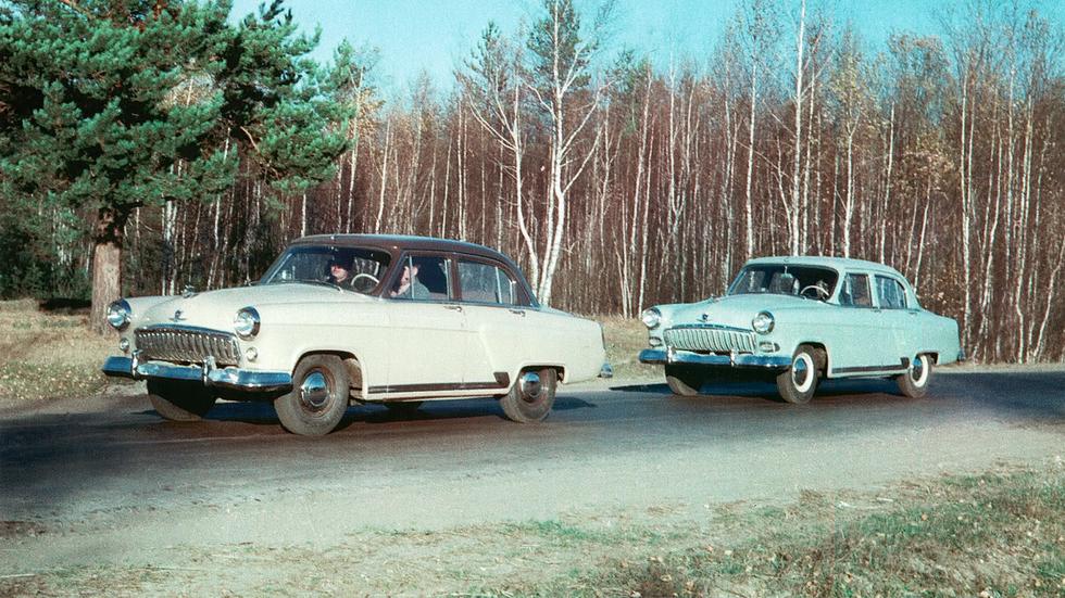 Ходовые испытания прототипов начались летом 1954-го