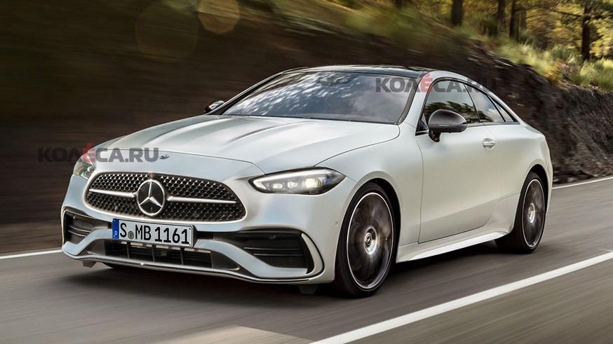 Будущая новинка Mercedes-Benz: как может выглядеть купе CLE?