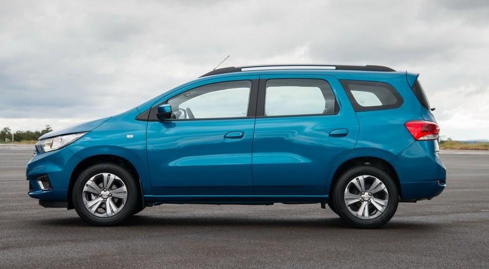 На фото: обновленный Chevrolet Spin