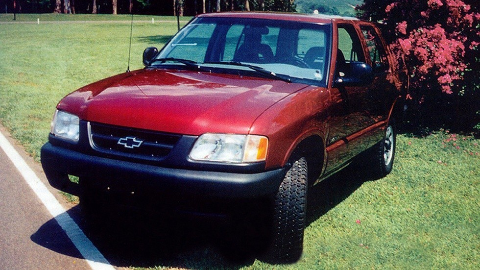 Бразильская версия Chevrolet Blazer. Автомобиль именно с такой внешностью официально предполагалось собирать в Татарстане.
