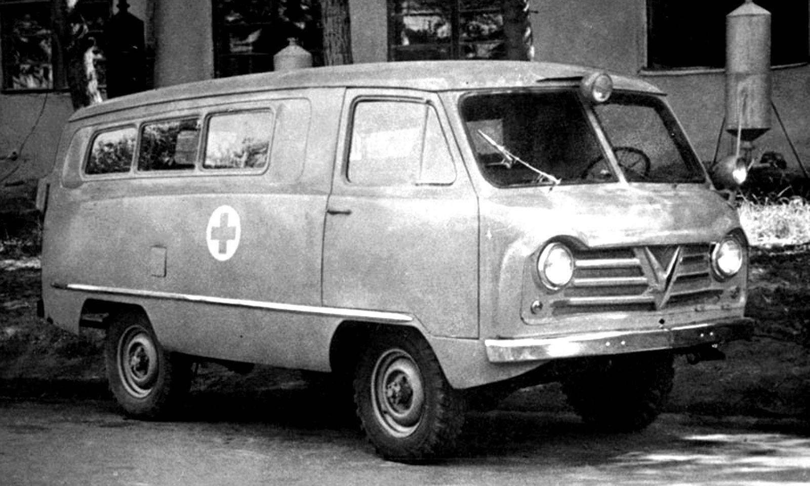 Автомобили из зоны риска: незаметные санитарные машины Советских вооруженных сил