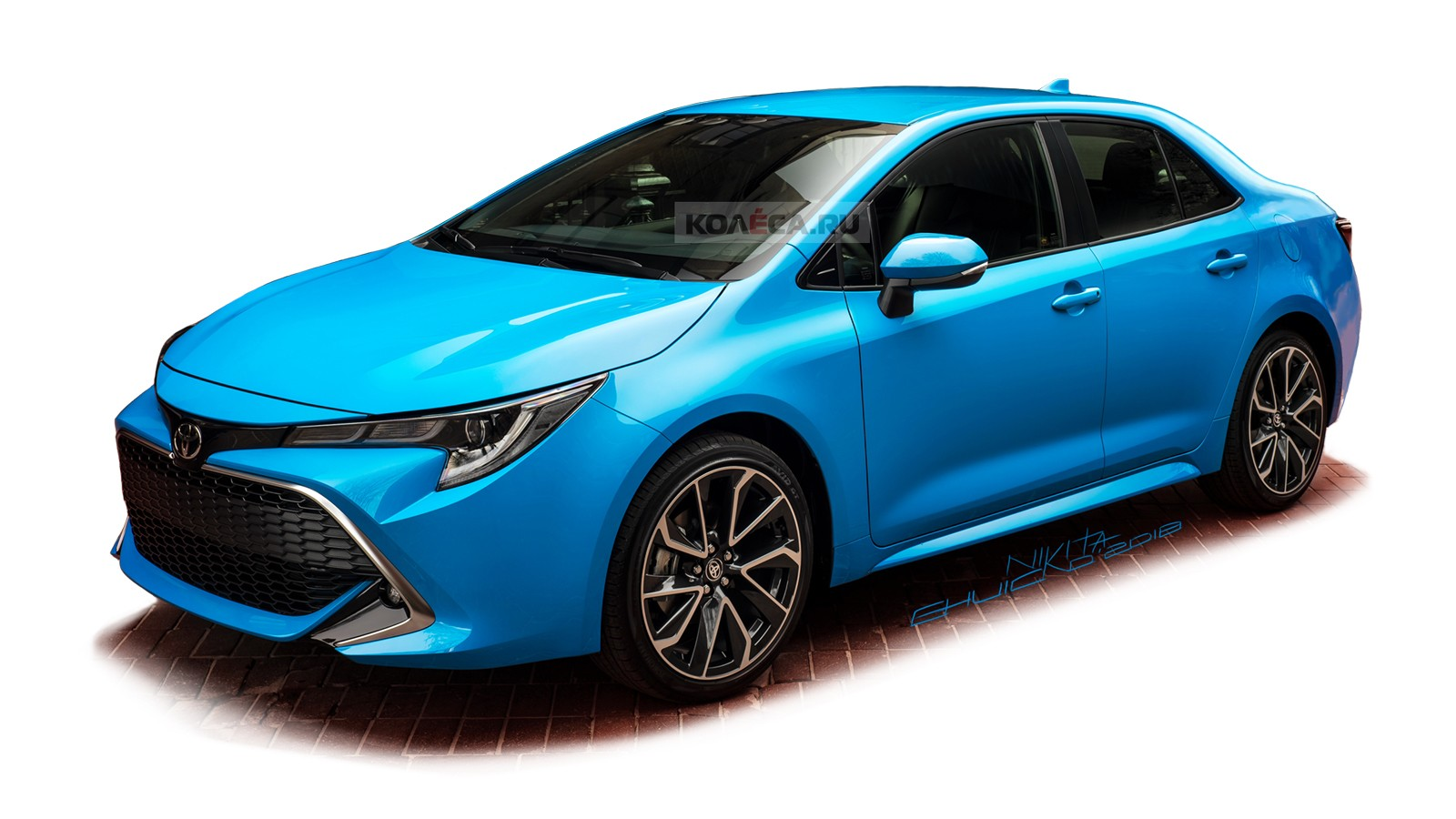 Toyota Corolla front2