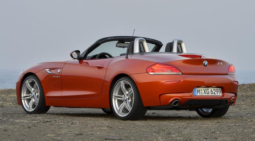 На фото: BMW Z4 прошлого поколения