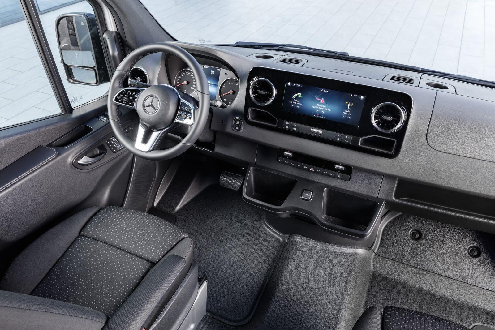 Weltpremiere Mercedes-Benz Sprinter 2018 World premiere Mercedes-Benz Sprinter 2018