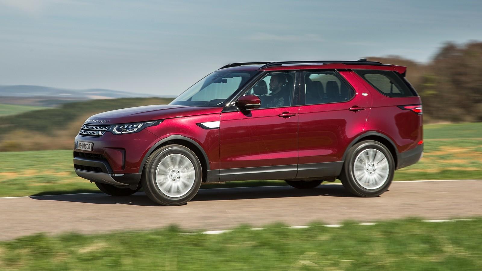 На фото: Land Rover Discovery '2017–н.в.