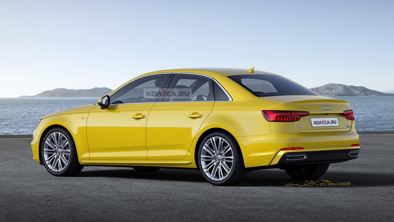 Audi A4 rear1
