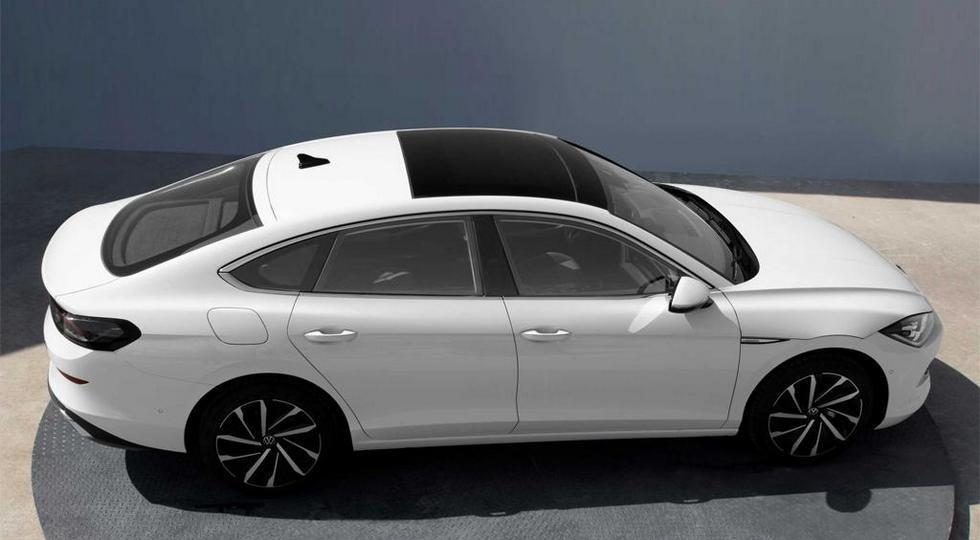 Volkswagen Lamando нового поколения раскрылся досрочно: лифтбек вместо седана