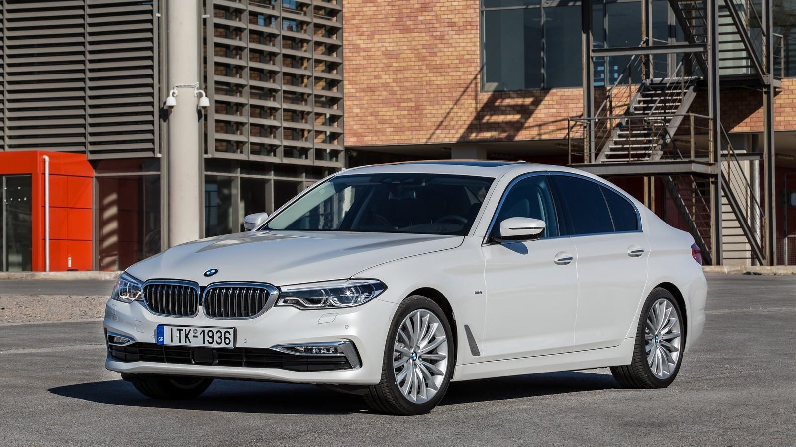 BMW 520d Sedan Luxury Line Worldwide (G30) '2017