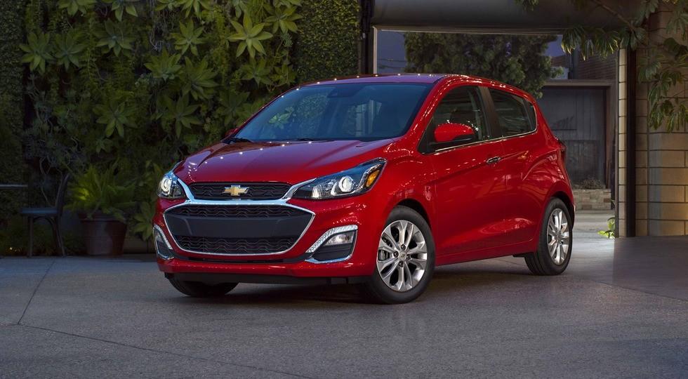 На фото: обновленный Chevrolet Spark
