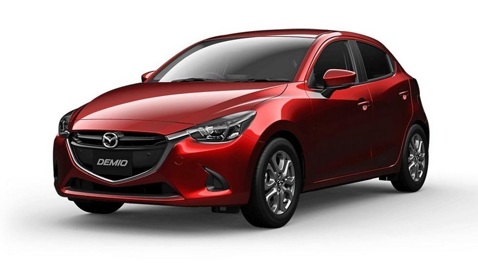 Mazda2 будет внешне похожей нановые Mazda3 иMazda6