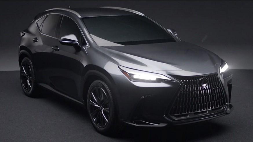 В преддверии премьеры Lexus NX нового поколения: опубликован тизер, хотя внешность уже не секрет