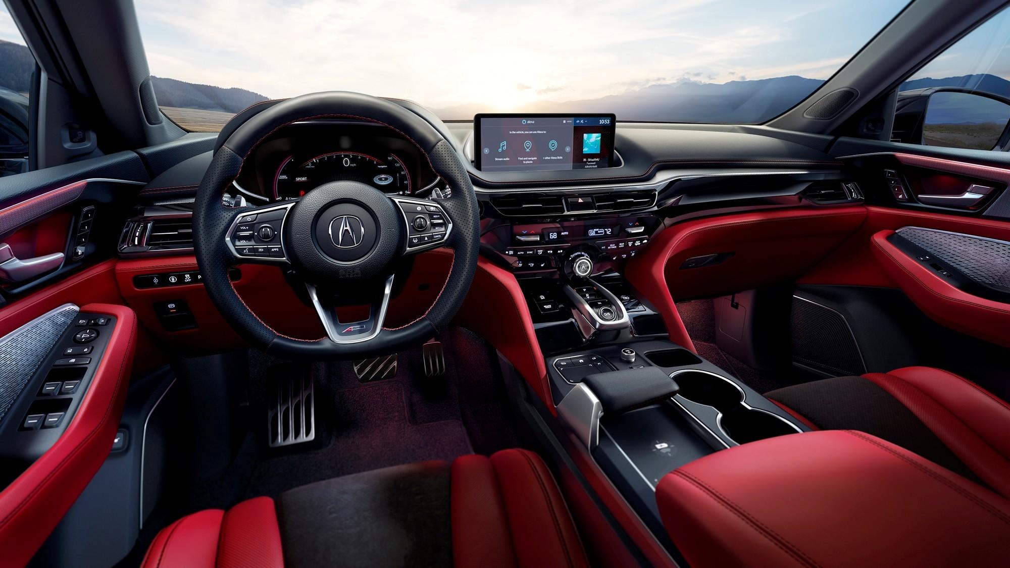 Новый Acura MDX: сохранённая сложность, более просторный салон и никакой гибридизации