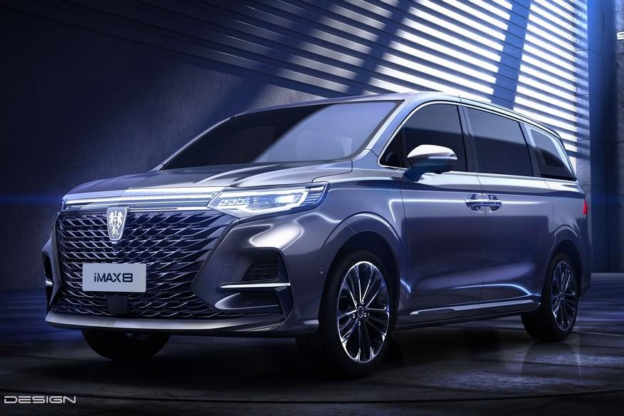 Roewe решила бросить вызов Volkswagen Viloran и Buick GL8: марка показала свой первый минивэн