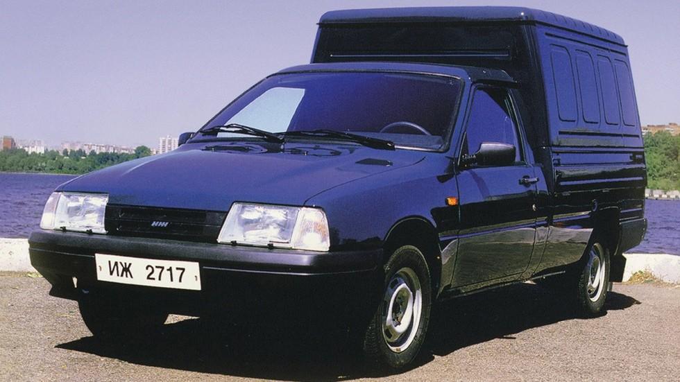 На фото: Иж-2717 Ода Версия '1999–2005