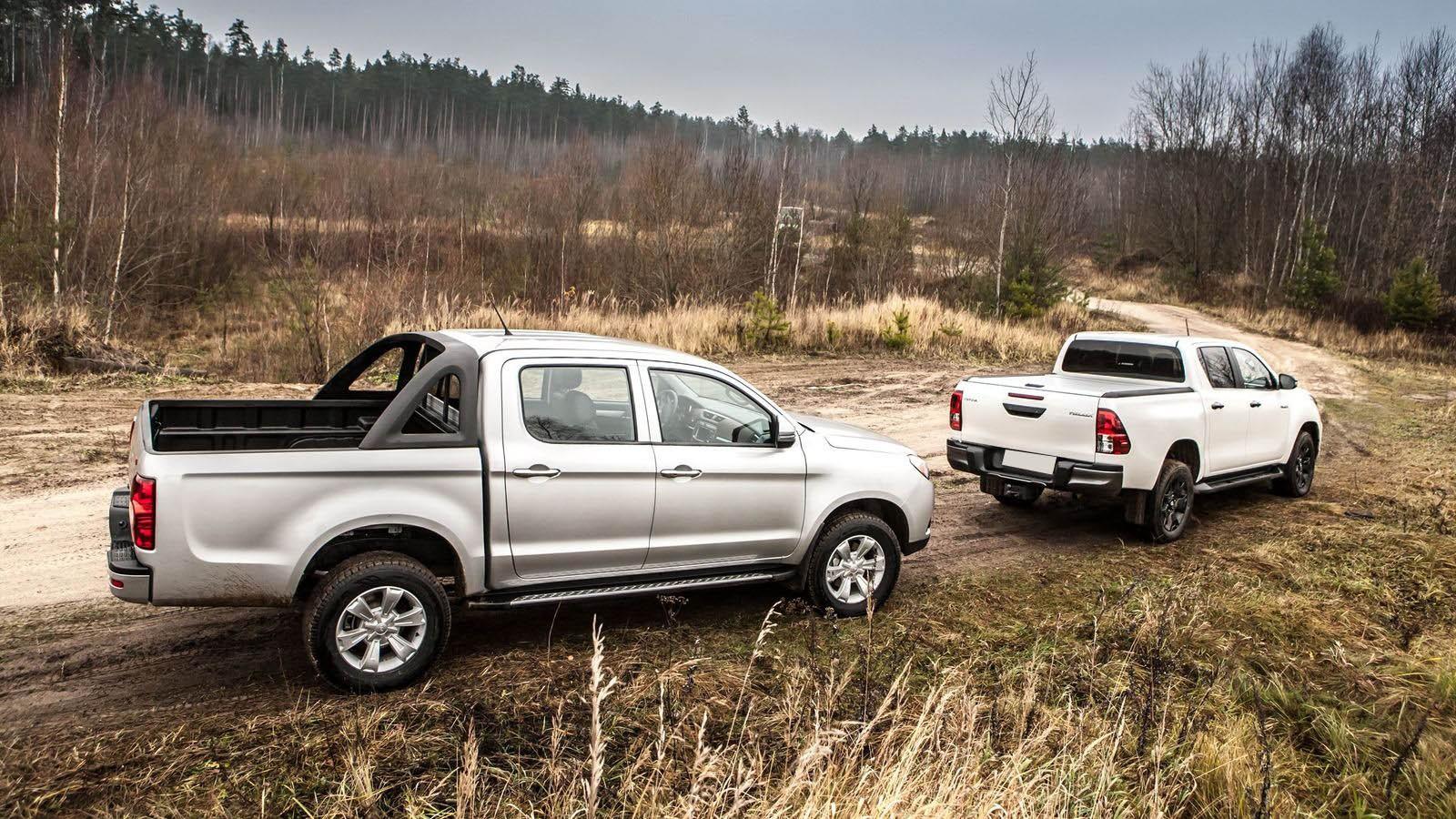 Полная Экстра замахнулась на Чёрный Эксклюзив: cравнительный тест JAC T6 и Toyota Hilux