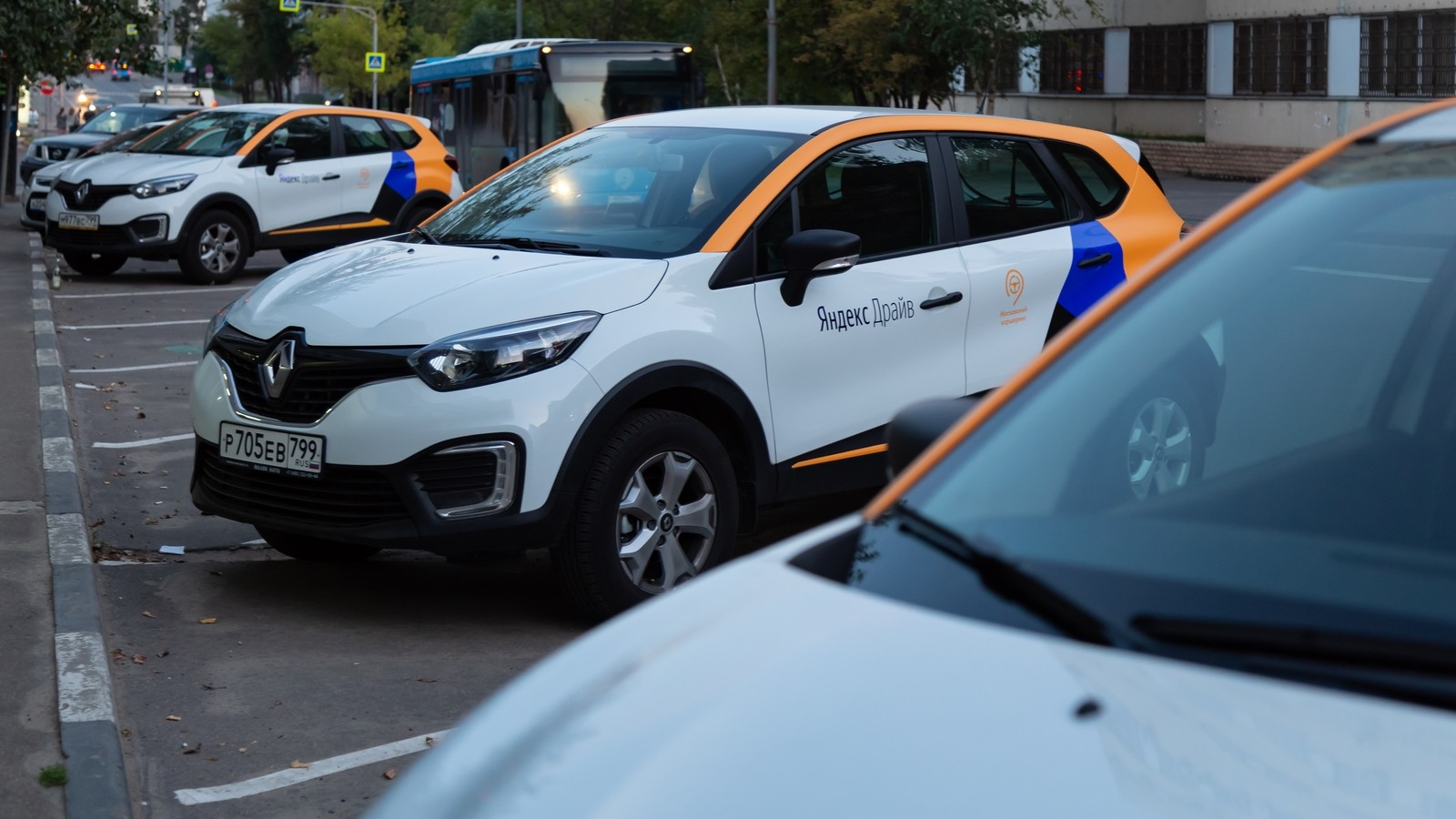 MOSCOW, RUSSIA — AUGUST 17, 2018: A Renault Captur, crossover fr