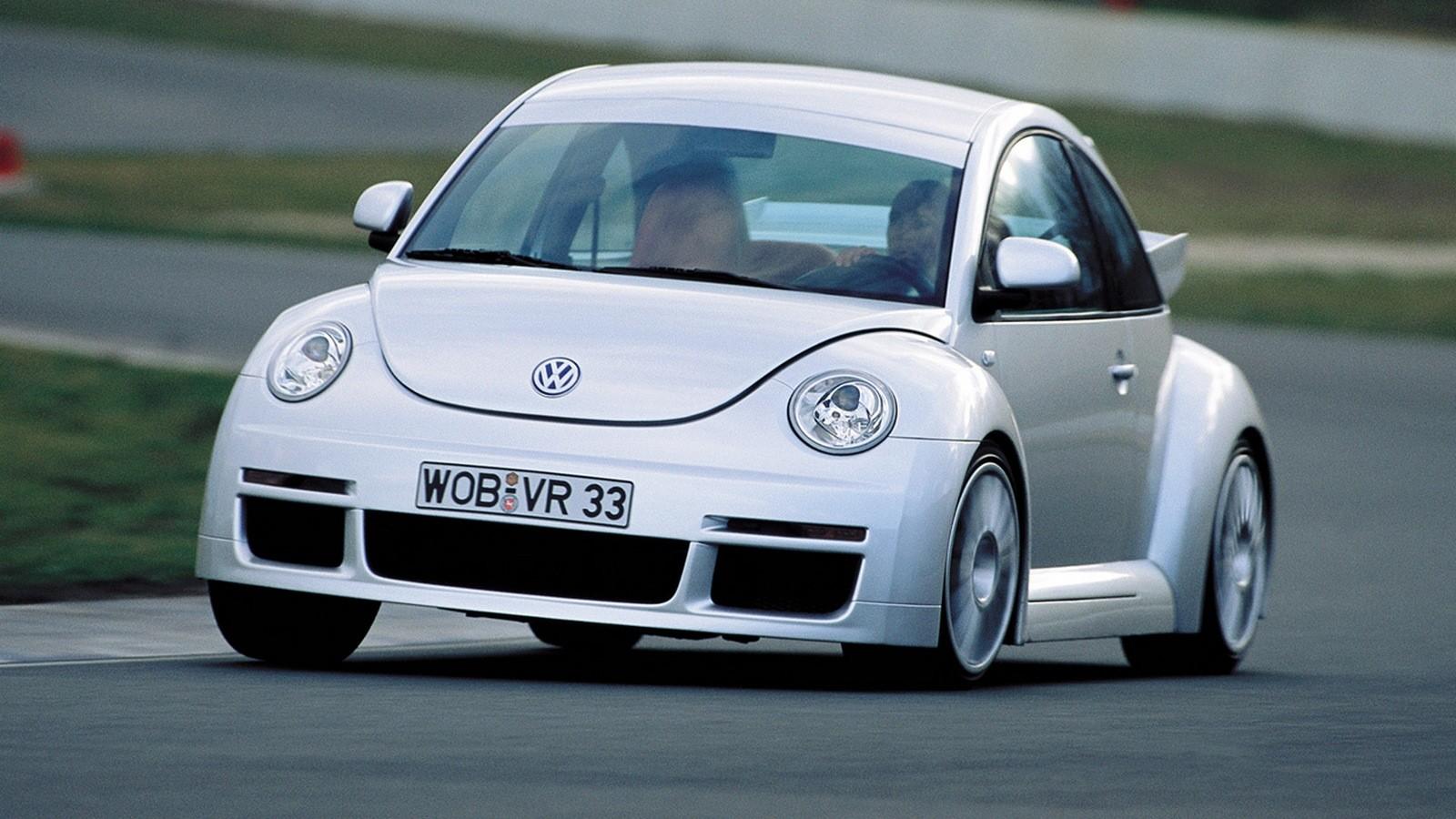 На фото: Volkswagen New Beetle RSi '2001–03