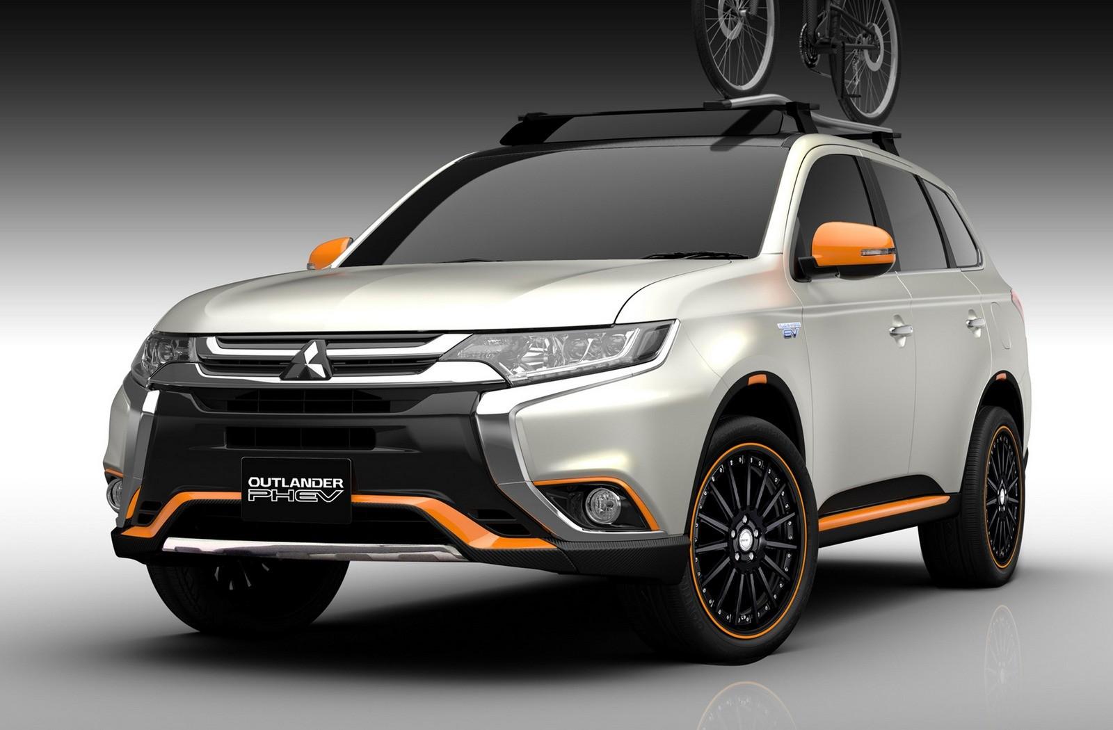 На фото: концепт Mitsubishi Outlander PHEV Outdoor Gear