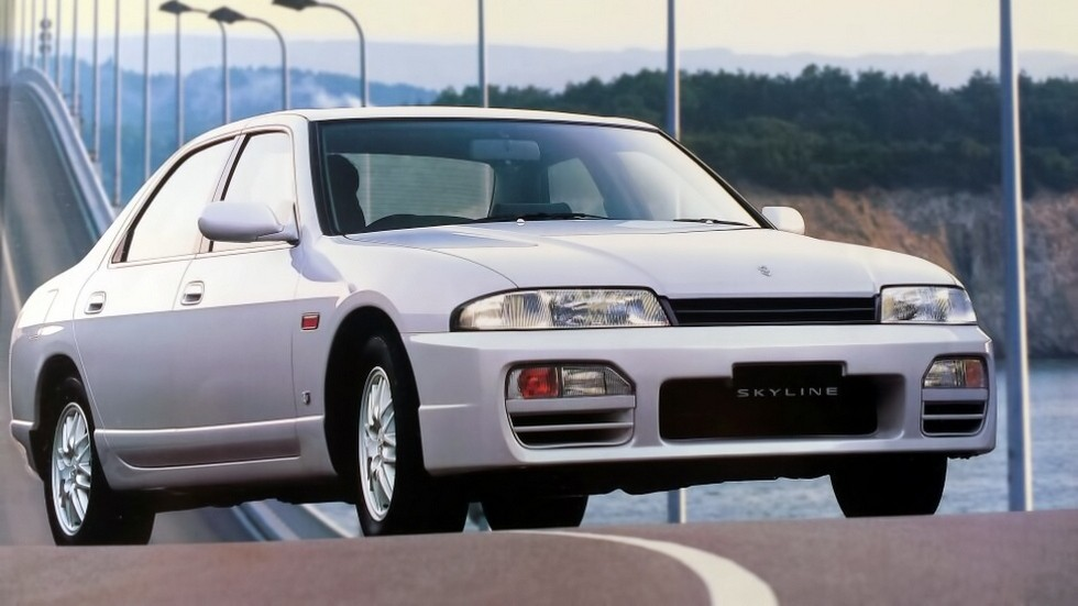 На фото: Nissan Skyline R33 '1993–98