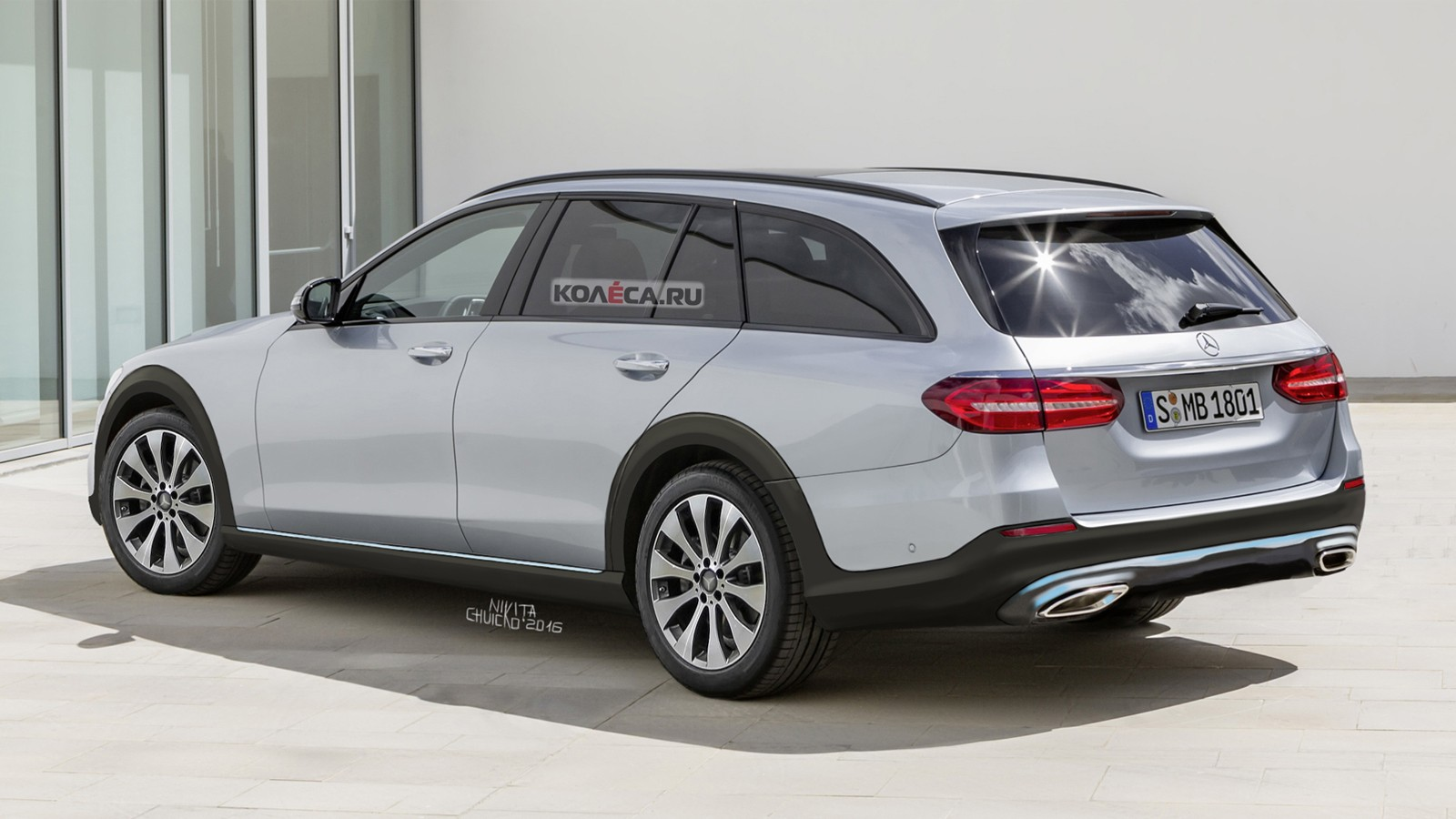 Mercedes AllTerr render rear
