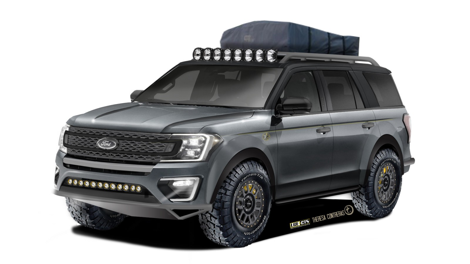 2018 Ford Expedition XLT created by LGE-CTS Motorsports