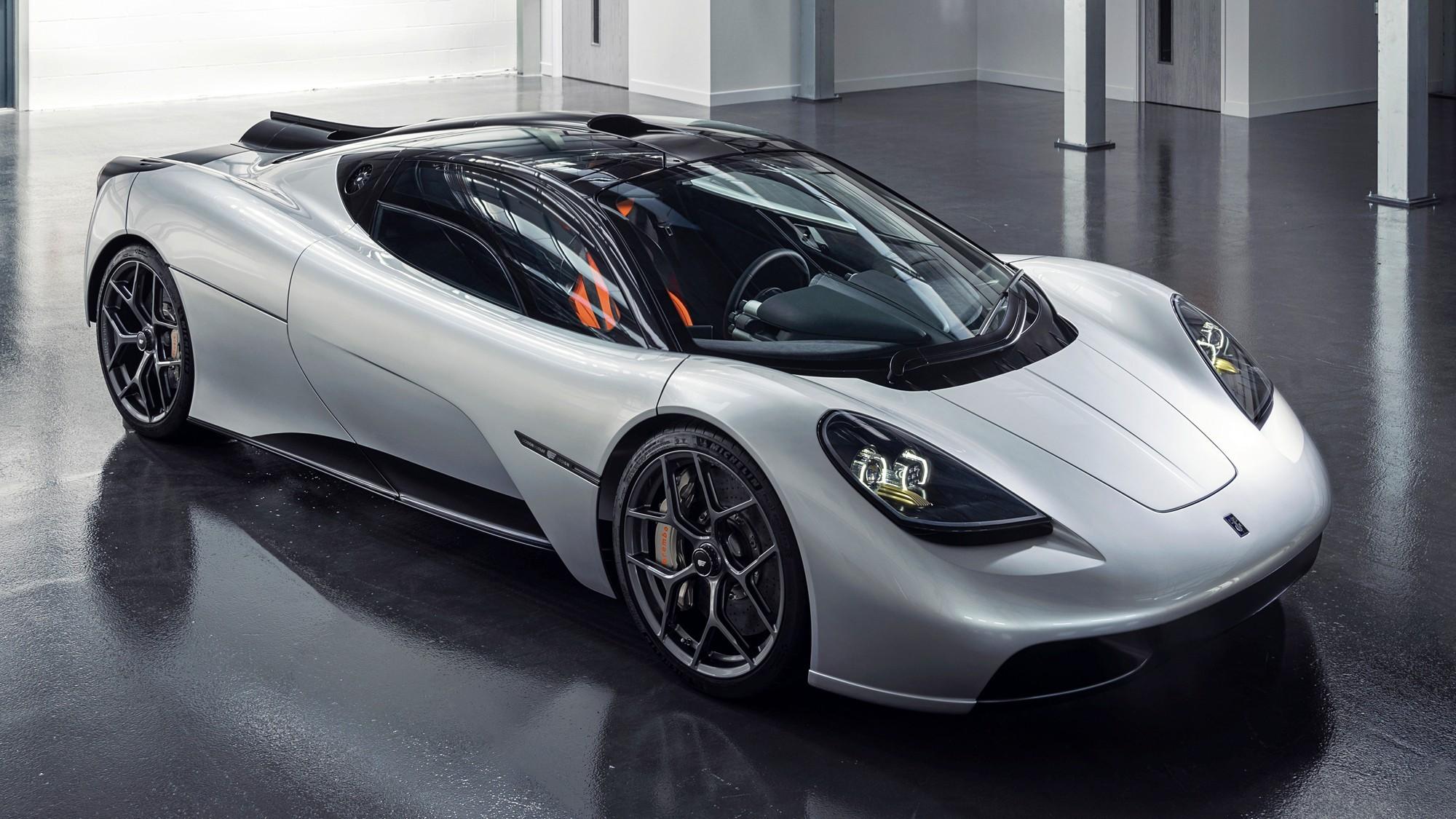 Планы Gordon Murray: ещё один суперкар с V12 и маленький электрический кроссовер