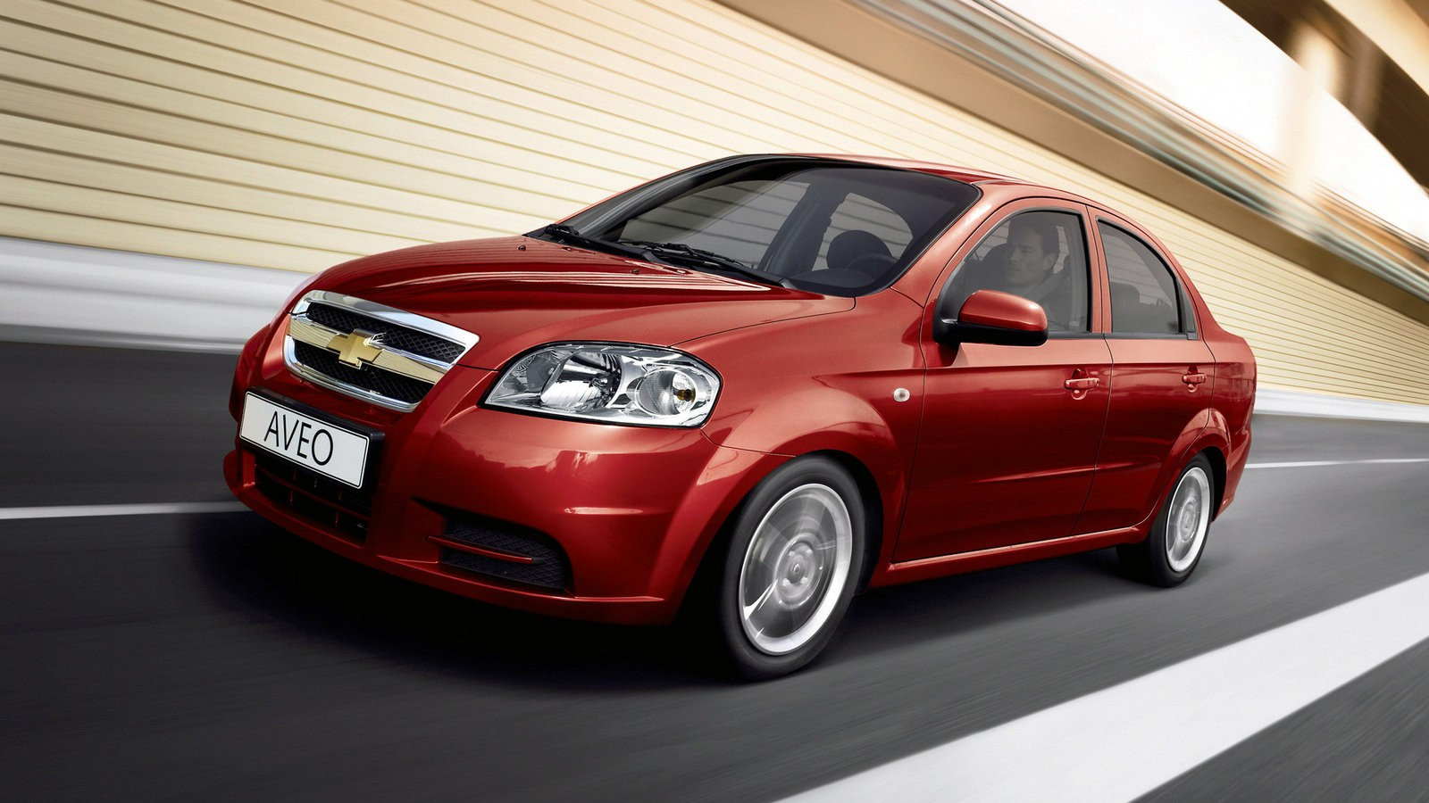 На фото: Chevrolet Aveo Sedan (T250) '2006–11