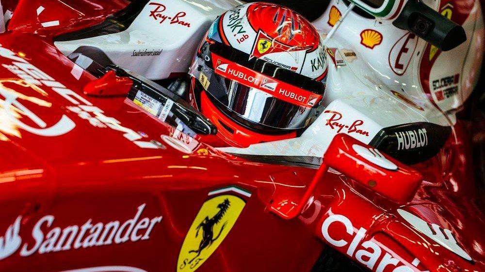 Кими Райкконен продлил контракт с Ferrari на 2017 год
