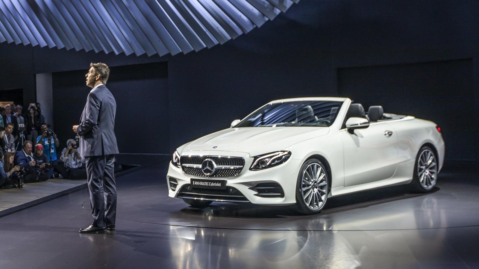Mercedes-Benz auf der New York International Autoshow 2017