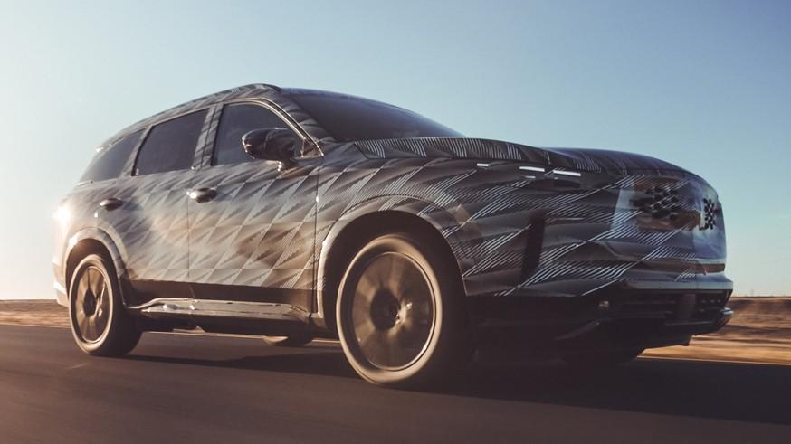 Infiniti дразнится в преддверии премьеры: тизер салона серийного QX60 следующего поколения